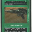 Star Wars CCG Imperial Blaster Premiere Limited Game Card