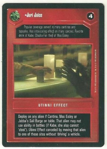 Star Wars CCG Juri Juice Premiere Limited Rare Game Card