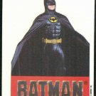 Batman 1989 Topps #26 Puzzle Sticker Trading Card