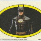 Batman 1989 Topps #35 Puzzle Sticker Trading Card