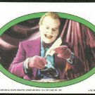 Batman 1989 Topps #40 Puzzle Sticker Trading Card