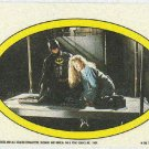 Batman 1989 Topps #42 Puzzle Sticker Trading Card