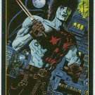 Crow City Of Angels 1996 #5 Embossed Trading Card