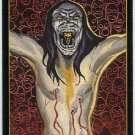 Crow City Of Angels 1996 #6 Embossed Trading Card