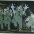 Disney Premium Silver Screen Card #87 Lonesome Ghosts