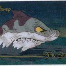 Disney Premium Silver Screen Card #88 The Shark