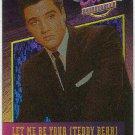 Elvis Presley 1992 Dufex Foil Card #2 Teddy Bear