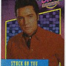 Elvis Presley 1992 Dufex Foil Card #33 Stuck On You