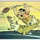 Flintstones NFL #H3 Hologram Chase Card Fred and Dino