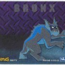 Gargoyles 1996 #6 Static Glow Sticker Chase Card Bronx