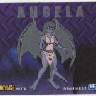Gargoyles 1996 #7 Static Glow Sticker Chase Card Angela