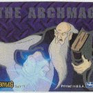 Gargoyles 1996 #9 Static Glow Sticker Card The Archmage