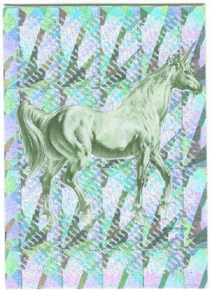 Boris with Julie Unicorns #2 Chase Trading Card