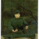 GI Joe 30th Salute #C1 Chromium Card The Green Beret