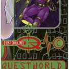 Jonny Quest 1996 #QC7 Puzzle Trading Card