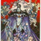 Lady Death Series 2 Promo Chromium Card Red Background