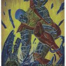 Marvel Annual 95 Flair Chromium #12 Chase Card Colossus