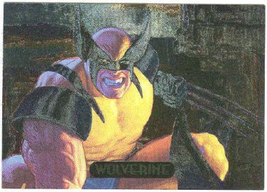 Marvel Masterpieces 1994 #9 Powerblast Card Wolverine