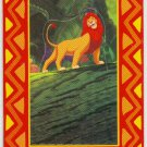 Lion King 1994 Series 2 #P10 Pop Up Card Adult Simba