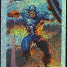 Marvel Masterpieces 1994 #1 Holofoil Card Captain America