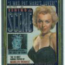 Marilyn Monroe Behind The Scene Cover Girl Chromium Card