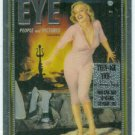 Marilyn Monroe Eye Cover Girl Chromium Card
