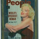 Marilyn Monroe People Cover Girl Chromium Card