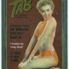 Marilyn Monroe Tab Cover Girl Chromium Card