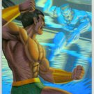 Marvel Annual 95 Flair #11 HoloBlast Card Namor, Llyron