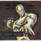 Marvel Annual 95 Flair #2 PowerBlast Card Silver Surfer