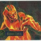 Marvel Annual 95 Flair #13 PowerBlast Card Human Torch