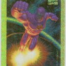 Marvel Masterpieces 1994 #5 Gold Holofoil Card Iron Man