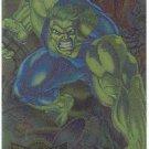 Marvel Metal 1995 #5 Blaster Chase Card Hulk