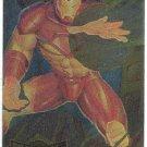 Marvel Metal 1995 #7 Blaster Chase Card Iron Man