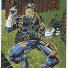 Marvel Universe 1994 Gold #2 Powerblast Card Punisher