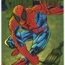 Marvel Universe 1994 Gold #6 Powerblast Card Spider-Man