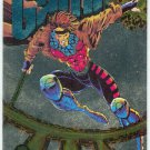 Marvel Universe 1994 Silver #4 Powerblast Card Gambit