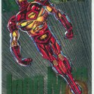 Marvel Universe 1994 Silver #7 Powerblast Card Iron Man