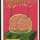 Simpsons 1994 Radioactive Man #R1 Brain-O Magnificent Card