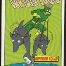 Simpsons 1994 Radioactive Man #R8 Captain Squid Card