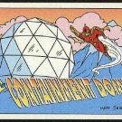 Simpsons 1994 Radioactive Man #R10 Containment Dome Card