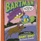 Simpsons 1994 Bartman #B4 Chase Card The Origin Of Bart Dog