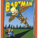 Simpsons 1994 Bartman #B6 Chase Card Camp Krustys Krazy Daze