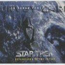 Star Trek 30th Anniversary Phase 2 Survey Card