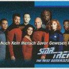 Star Trek TNG #O1C German Language Trading Card