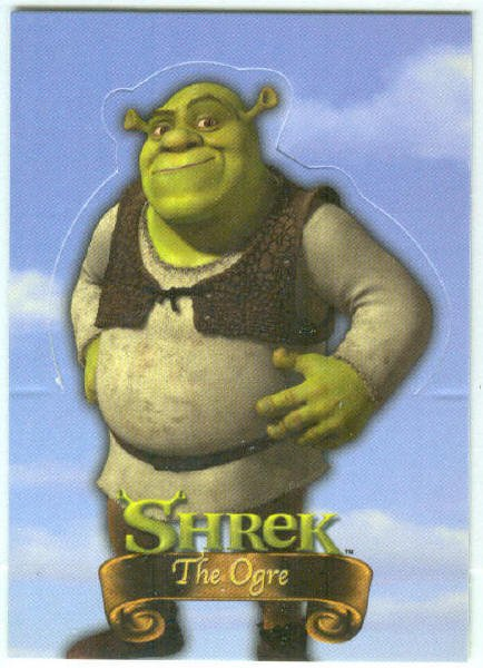 Shrek Stand Up #S1 The Ogre Chase Trading Card