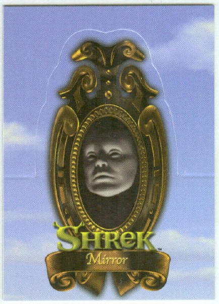 Shrek Stand Up #S5 Mirror Chase Trading Card
