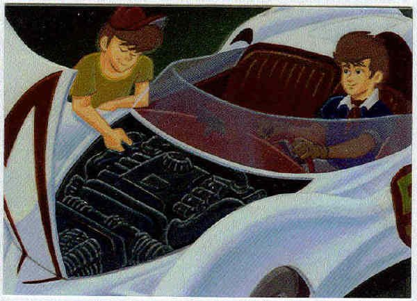 Speed Racer Chromium #C5 The Mach 5 Chase Trading Card