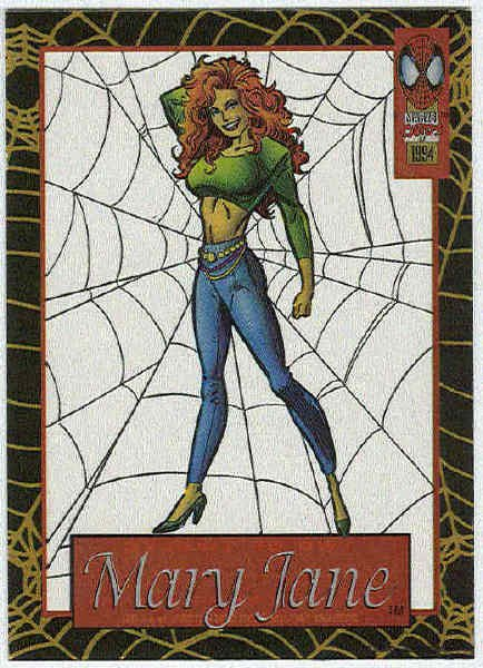 Spider-Man Amazing Cel #2 Mary Jane Chase Trading Card