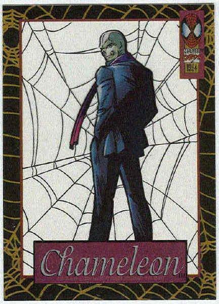 Spider-Man Amazing Cel #3 Chameleon Chase Trading Card